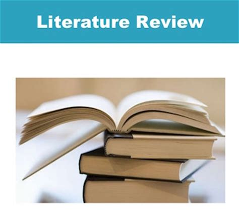 Conducting a systematic review of literature